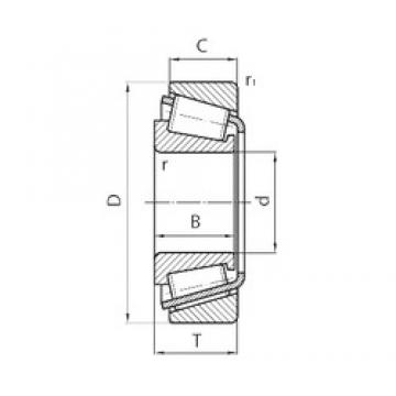 48 mm x 85 mm x 14,5 mm  NTN EC0-CR10A21STPX1V3 tapered roller bearings